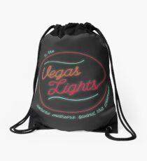 vegas lights! Drawstring Bag