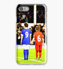 Hillsborough 96 Liverpool Everton together  #jft96 (T-shirt, Phone Case & more) iPhone Case/Skin