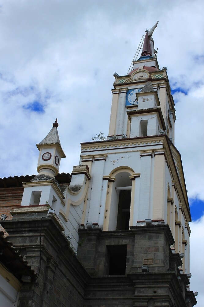 Church Steeple by rhamm