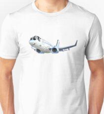 Cartoon Airliner Boeing 737 Unisex T-Shirt