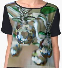 Beautiful home decorative elements produced from crystal glass Women's Chiffon Top
