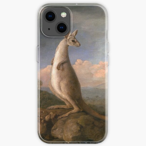 The Kongouro from New Holland, by George Stubbs iPhone Soft Case