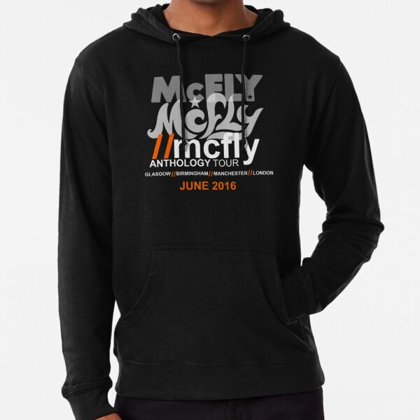 MCFLY ANTHOLOGY TOUR Lightweight Hoodie