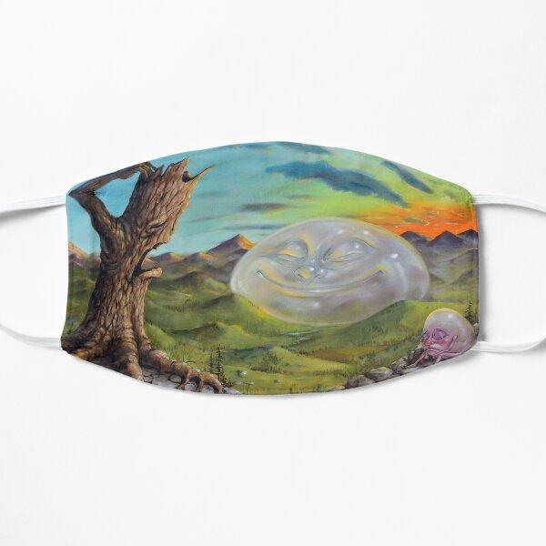 Happy Landscape Flat Mask