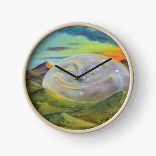 Happy Landscape Clock