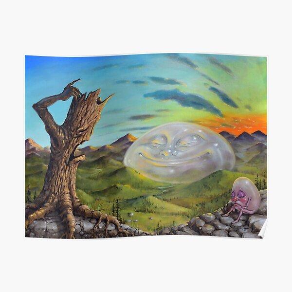 Happy Landscape Poster