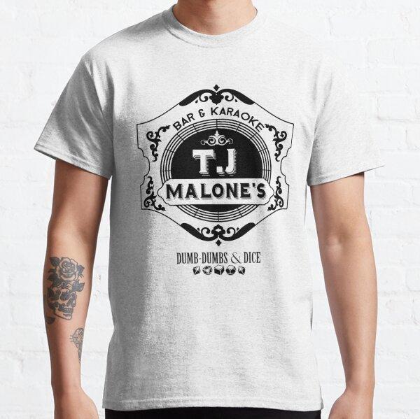 T.J. Malone's (Black Text) Classic T-Shirt