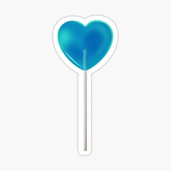 Blue Lollipop Sticker