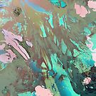 Carribean psychedelic marble ink by mikath