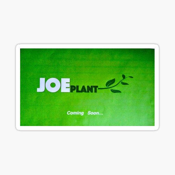 Joe Plant Feature Logo Sticker