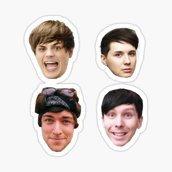 foursome head pack Sticker