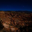 Bryce Canyon at Night by Silken Photography