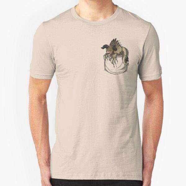 Pocket Deathclaw Slim Fit T-Shirt