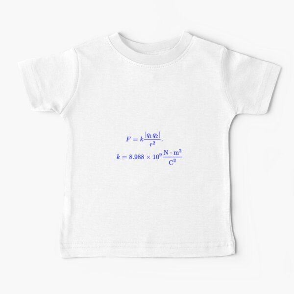 Coulomb's Law Baby T-Shirt