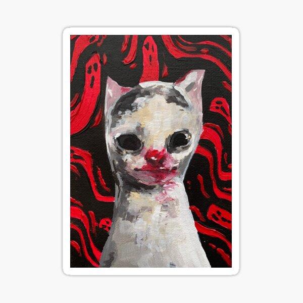 ME LON CAT Sticker