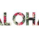 Blumen Aloha von daburrows