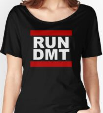 RUN DMT Women's Relaxed Fit T-Shirt