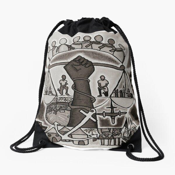 The Journey Drawstring Bag