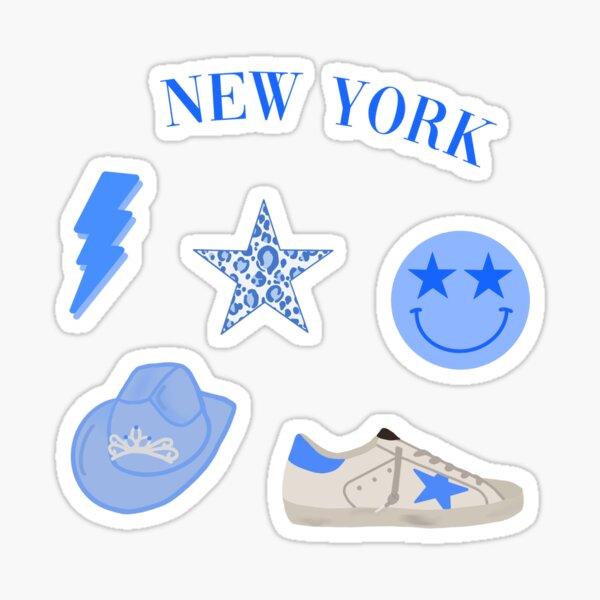 Blue Preppy Sticker Pack Sticker