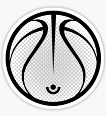 Vector Basketball Sticker