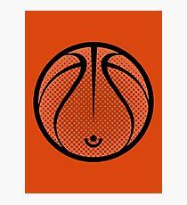 Vector Basketball Photographic Print