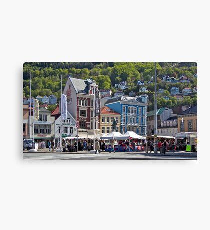 Bergen Canvas Print