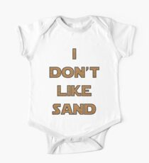I don't like sand - version 2 One Piece - Short Sleeve