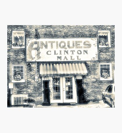 """""""Antiques... Clinton Mall, #4""""... prints and products Photographic Print"""