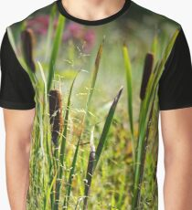 Cattails Graphic T-Shirt