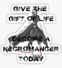 Necromancer Sticker