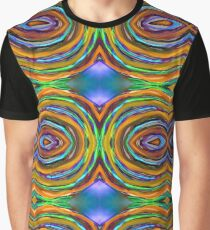 Psychedelic 4 Circle Bump Graphic T-Shirt