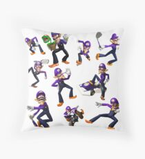 Waluigi Throw Pillow