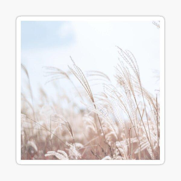 Cute Golden Grass Image Sticker