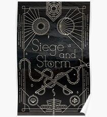 The Grisha Trilogy - Siege and Storm Poster