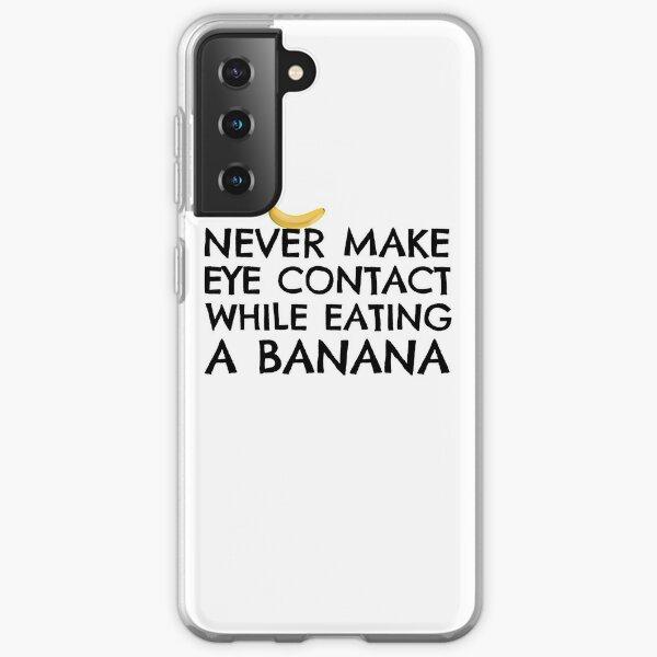 Funny Humour Dick Joke Banana Sex Samsung Galaxy Soft Case