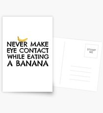 Funny Humour Dick Joke Banana Sex Postcards