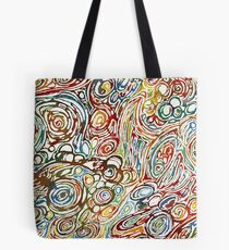 Swirls of Happiness Tote Bag