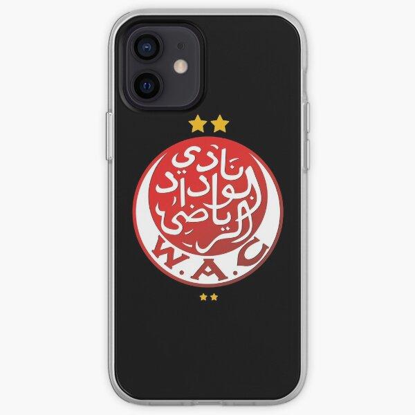 Wydad Casablanca Coque souple iPhone