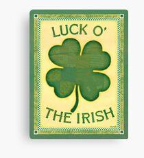 Luck O' the Irish Canvas Print