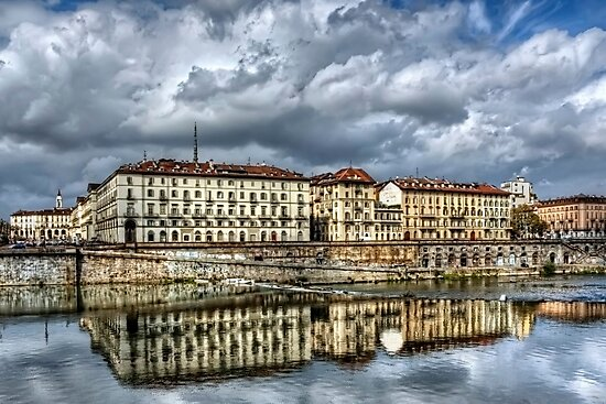Turin Shrouded in Cloud  by CarolJapp