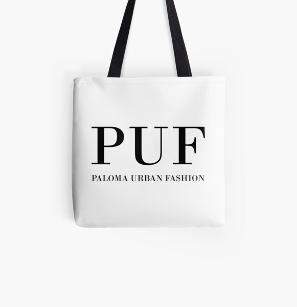 PUF - Paloma Urban Fashion All Over Print Tote Bag