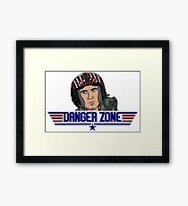 DangerZone Framed Print