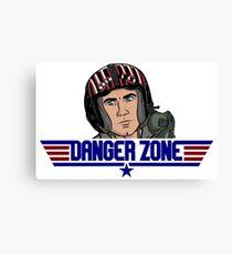 DangerZone Canvas Print