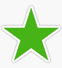 GREEN, STAR, Environment, Environmentalist, Ecology, Eco, Nature, Green, Sticker