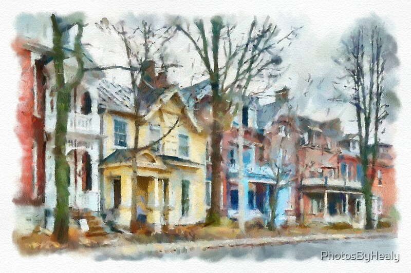 Sydenham Street - Watercolour by Photos by Healy
