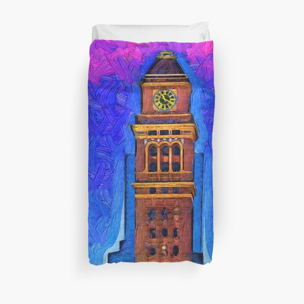 16th Street  Duvet Cover