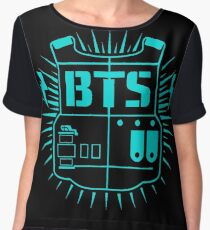 BTS (Army Blue) Chiffon Top