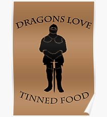 Tinned Dragon Food Poster