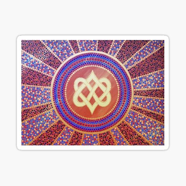Infinity Sun Sticker