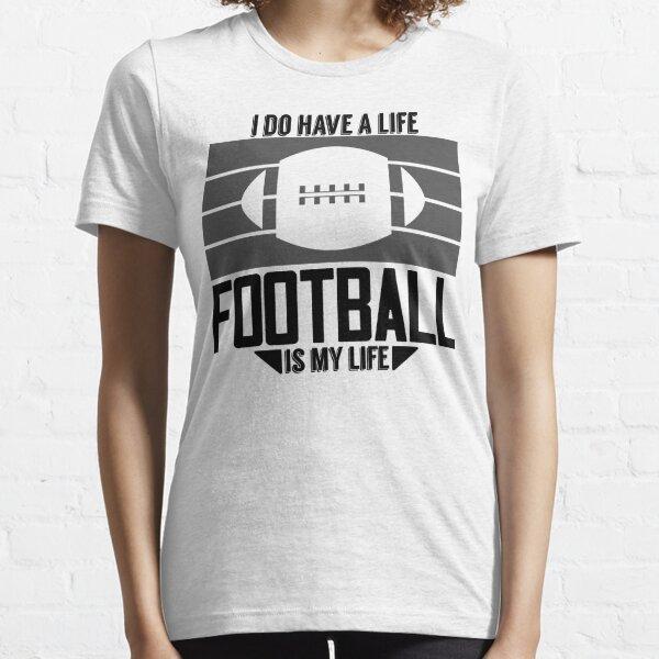 El fútbol es mi vida Camiseta esencial